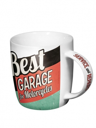 Nostalgic Art Best Garage Green Kupa